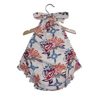 Rompers 2021 Lovely Flower Toddler Baby Girls Summer Jumpsuit Romper Onesie Outfits Suit Children Clothing
