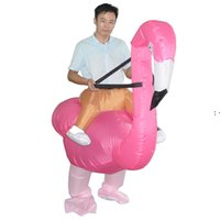 Costume di Halloween Inflatables Inflatables Flamingo Cosplay Dress Up Party Spoof Costumes Abbigliamento per bambini e adulti OWF9483