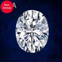 Szjinao Real 100% Oldo Gemstone DiamomD Taglio ovale 1,5CT 6 * 8mm D Colour Moissanite Pietra per anello con certificato GRA