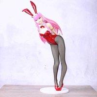 أنيمي حبيبي في franxx صفر كود 002 الأرنب فتاة مثير الفتيات pvc عمل أرقام التماثيل نموذج اللعب H0831