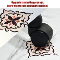 Auto adesivo PVC telha de cerâmica adesivos à prova d 'água adesivo de parede arte diagonal casa decoração cozinha 21 peça
