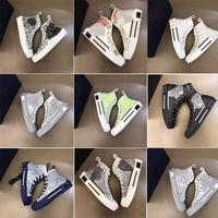 B23 Shoes Designer Sneakers Oblique High High Mens Sneaker B24 Técnico Técnico Cuero Mujeres Casual Bee Top Tim Tringers