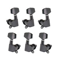 6pcs Sealed Guitar String Pegs Locking Tuners 3L3R String Tuners Heads Knobs