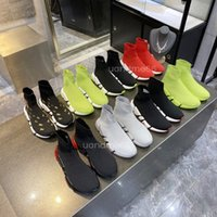 Hohe Qualität Geschwindigkeit 2.0 Paare Schuhe Balencaiga Balencga Triple S Fashion Designer Womens Socken Sneakers Männer Frauen Outdoor Platform Casual Trainer Sneaker 36-45 CPNT #