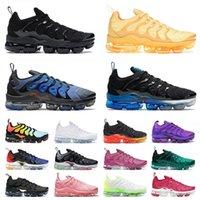 nike vapormax tn plus zapatos tn plus tns triple blanco negro cebra pastel hiper azul voltaje púrpura para hombre zapatillas de deporte para mujer chaussures zapatillas