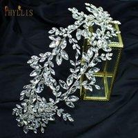 Hair Clips & Barrettes A348 Luxury Handmade Rhinestone Wedding Tiara Crystal Headpiece Royal Bridal Headband Accessories Queen Headdress