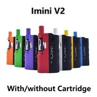 Оригинальные наборы сигареты Imini V2 E 650 мАч батарея с 0,5 мл 1,0 мл картриджа 510 резьбовые мульти Цвета Vape мод толстый испаритель масла