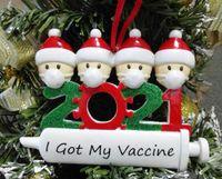 2021 عيد الميلاد الديكور الحجرية الحلي الأسرة من 1-7 رؤساء diy شجرة قلادة اكسسوارات مع حبل راتنج الأسهم