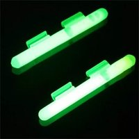 Pesca de la noche resplandeciente luminous stick con clip para cebo de fundición de cebo brillo clip pegado uno 699 S2