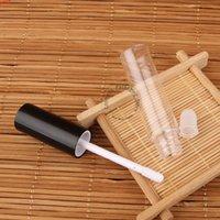 300pcs / lot en gros 8ml PS gloss tube en plastique vides cosmétiques 4 / 15oz femmes bricolage conteneur lèvres baume emballage