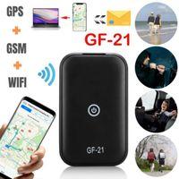 GF21 Mini GPS Real Time Car Tracker Anti-Lost Alarm Device Voice Control Recording Locator High-definition Microphone WIFI+LBS+GPS