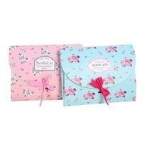 26x20.5x2cm Korean style Silk Scarf Gift Paper Box Kraft Paper Envelope Bag Postcard Photo Packaging Box Scarf Gift LX3844