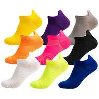 Women Men Pure Color Sports Socks Cycling Sport Sock Summer Hiking Tennis Ski Bike cycling Socks Basketball Running