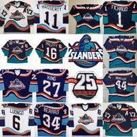 25 ° New York Islanders 16 Ziggy Palffy 11 Darius Kasparititis 15 Bryan Smolinski 6 Chris Luonongo 32 Andersson Toews 1997-98 maglie da hockey