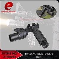 Elemento Surefir Tático Flashlight Rifle Airsoft Light Softail Scout Light M910a Vertical Foregrip Weaponlight Gun Lanterna 210322