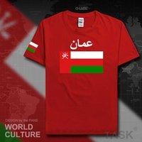 Sultanato di Oman Oman Uomini T Shirt Fashion Nation Team 100% T-shirt in cotone Abbigliamento Tees Paese Sporting Flags Omn Arabic X0621