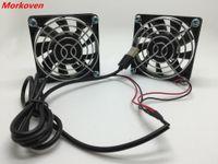 Soğutma Fanı 70mm 7 cm Sessiz Elektrikli Bilgisayar Iki Fanlar Bıçakları 5 V Radyatör ASUS AC68 PS4 PS3 TV Kutuları Lavabo Router Soğutucu Soğutma