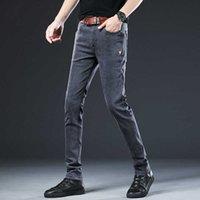Fit Jeans Denim Brand New Style Brokek Jack Jones Menswear Мужчины стремятся терять плед повседневная кнопка