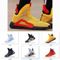 2019 nuove scarpe da basket originali N3xt L3V3L Zach Lavine Nero Cloud Bianco PRIME MAGLIA Scarpe Donovan Mitchell Scarpe da uomo Dimensione 40-46