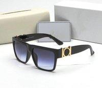 패션 펄 디자이너 선글라스 고품질 브랜드 편광 렌즈 태양 안경 안경 안경 안경 금속 프레임 6867