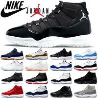 air jordan 1 New Cap and Gown Prom Night Hombre 11 11s Zapatillas de baloncesto Zapatillas Iridescent UNC Gym Red Space Jam 45 Concord Sports Sneakers