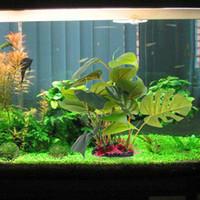 Dekorationen 2 Größen Grün Künstliche Kunststoff Wasser Gras Pflanze Ornament Für Beauty Aquarium Aquarium Dekoration Z07 Tropfen