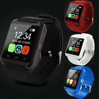 Relógio Bluetooth U8 Smart Watches Tela de toque com SLOT SIM GT08 A1 DZ09 relógio de pulso para smartphones do telefone Android
