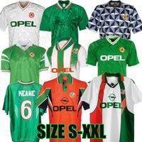 Irland Retro Fussball Jerseys 1990 1992 1994 1995 1996 1996 1988 FAI McGrath Keane 90 93 94 Weltmeisterschaft Klassische Vintage Irische Townsend Staunton HAUGEBALS FUSSBALL HEMDEN