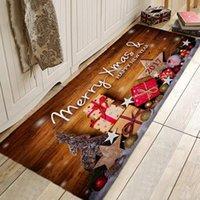 Carpets Christmas Tree Rug Gift Hallway And Rugs For Bedroom Living Room Carpet Kitchen Bathroom Anti-Slip Floor Mats