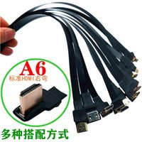 0,1 m -1m Ribbon Flat FPV -Cable Micro Mini -Compatible 90-Grad-Adapter 5cm-80cm FPC-Tonhöhe 20P-Steckverbinder-Computerkabel C Connect