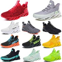 2021 men running shoes triple black white fashion mens women trendy great trainers breathable casual sports outdoor sneakers 40-45 color30