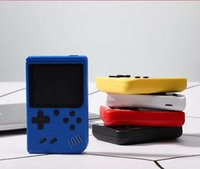 Portatile Portatile Video Game Console Retro 8 bit Mini giocatori 400 Giochi 3 in 1 AV Pocket GameBoy Colour LCD