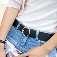 Belts Most Fashion Belt On 2021 Big Iron Hoop Bukcle Women Jeans Pants Decorating And Function Strap For Girls Students