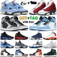 Chaussures de basket-ball hommes femmes 1s High OG jumpman 1 University Blue Hyper Royal Mid Light Smoke Grey Chicago Dark Mocha Twist baskets pour hommes