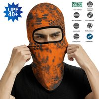 Cycling Caps & Masks Tactical Army Balaclava Kryptek Inferno Face Mask Cover Neck Gaiter Bandana Paintball Hiking Helmet Liners Cap Men Wome