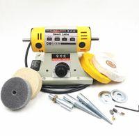 110V   220V 350W Stone Polishing Machine DIY Woodworking Jade Jewelry Dental Bench Lathe Machine Grinding Machine Sanding Tools