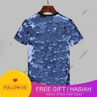 arrive Summer 2020 New Designers Shirts Mens Clothing shirt blue camo letter Printing Casual -shirt Women Luxury Shirt Dress ee Tops