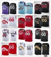2021 Basketball Rodney 32 Hood Gary 33 Trent Jr. Trikots Kyle Lowry Fred Vanvleet Aron Baynes Pascal Siakam Og Anunoby Patrick McCaw Dekre 'Bembry Chris Boucher