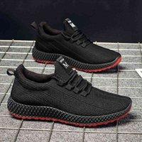 Fashion Newest Arrivée Chaussures de sport pour hommes respirantes Baskets de baskets décontractés légers Baskets de jogging extérieur