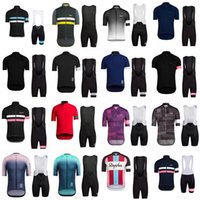 Rapha Team Cycling Maniche corte Jersey Bib Shorts Set Bicicletta da esterno Nuovo Gel 3D Pad Stile estivo MTB Maillot Ciclismo 32351