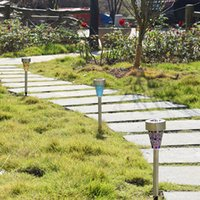 Solar Lights For Outdoor Lamps Pathway,Brightest Light Set Walkway, Patio, Path, Lawn, Garden, Yard Decor,Waterproof DHL