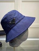 Denim Kova Şapka Mavi Pamuk Erkekler Kadınlar Için Panama Şapka Kapaklar Balıkçılık Fisher Plaj Festivali Güneş Kap Kaseler Bush Beanie Bir Boyutu