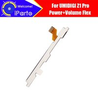 Cell Phone Cables 5.5 Inch UMIDIGI Z1 Pro FPC Flex Cable 100% Original Power+Volume Button Wire Repair Accessories For UMI