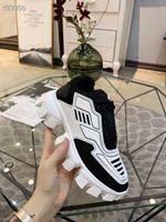 2019 Hot New Designer Shoes Men and Cloudbust Thunder Knit Diseñador de Punto de Punto de gran tamaño Mujeres Suela de goma ligera Suela Casual C16