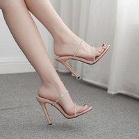 Sandals Diamond High-heeled Shoes, Slippers And Large Women's Shoes Sandalias De Verano Para 2021 Sandles Women
