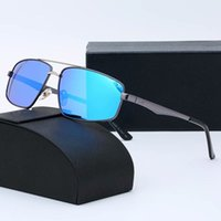 Erkekler için Yeni Moda Güneş Gözlüğü Siyah Kahverengi Temizle Lensler Spor Çerçevesiz Buffalo Boynuz Gözlük Kadınlar Altın Ahşap Kutusu Ile