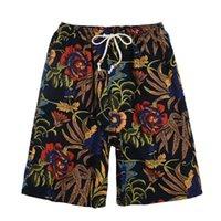 2021 Pantaloncini da calcio Summer Style Style Hot Cotton and Lenzy Stampato Big Pants Big Beach Uomo AAA222