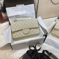5A+ CF1112 cluth original patent hand bags top quality lamb skin wallet famous designer luxury women purse gold and silver chain female package wholesale