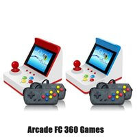 Portable Game Players A6 Mini Arcade Video Console Children's Gift Toys8-bit Handheld Support TV Built-in 360 Retro Games