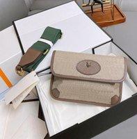 Top Luxurys Designers Bolsos Neo Vintage Messenger Bolsas Hombres Mujeres Crossbody Bag Brass Hardware Originales Vestido de calidad Bolsa de cámara con caja